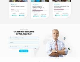 Nro 7 kilpailuun Web site for a non profit organisation käyttäjältä adnan158817