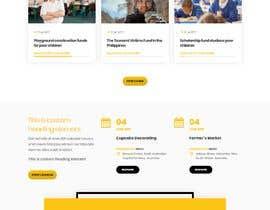 Nro 8 kilpailuun Web site for a non profit organisation käyttäjältä adnan158817