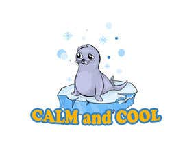 Nro 29 kilpailuun Drawing of a seal and the message calm and cool käyttäjältä Pandred