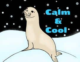 Nro 27 kilpailuun Drawing of a seal and the message calm and cool käyttäjältä RamSRK3
