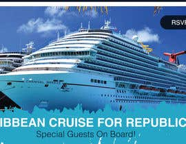 "#20 для Facebook Ad Graphic for ""Duval Trump Club Caribbean Cruise"" от petersamajay"