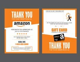 #38 untuk make me a Feedback flyer for my amazon orders oleh fhgraphix1