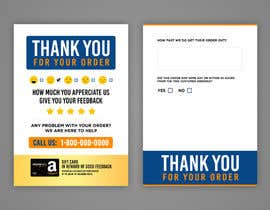 #34 untuk make me a Feedback flyer for my amazon orders oleh Sukhvinder19
