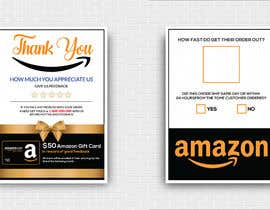 #44 untuk make me a Feedback flyer for my amazon orders oleh MdMoinUddin13