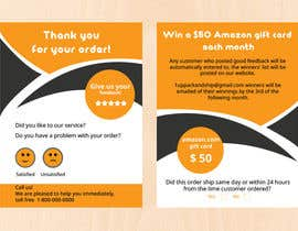 #40 untuk make me a Feedback flyer for my amazon orders oleh rabiul551691