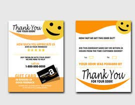 #41 untuk make me a Feedback flyer for my amazon orders oleh mgrabby35i