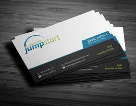 #19 for Make a business card, letterhead, and tri-fold brochure for website design and SEO company by playrubel