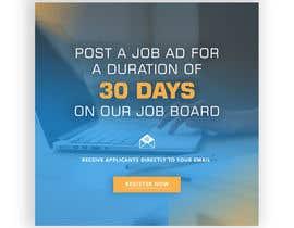 #24 untuk Ecover for Job Ad site oleh luqman47