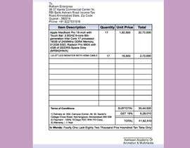 #18 para Build me a purchase order format with GST and HNS Details por mdrahad114