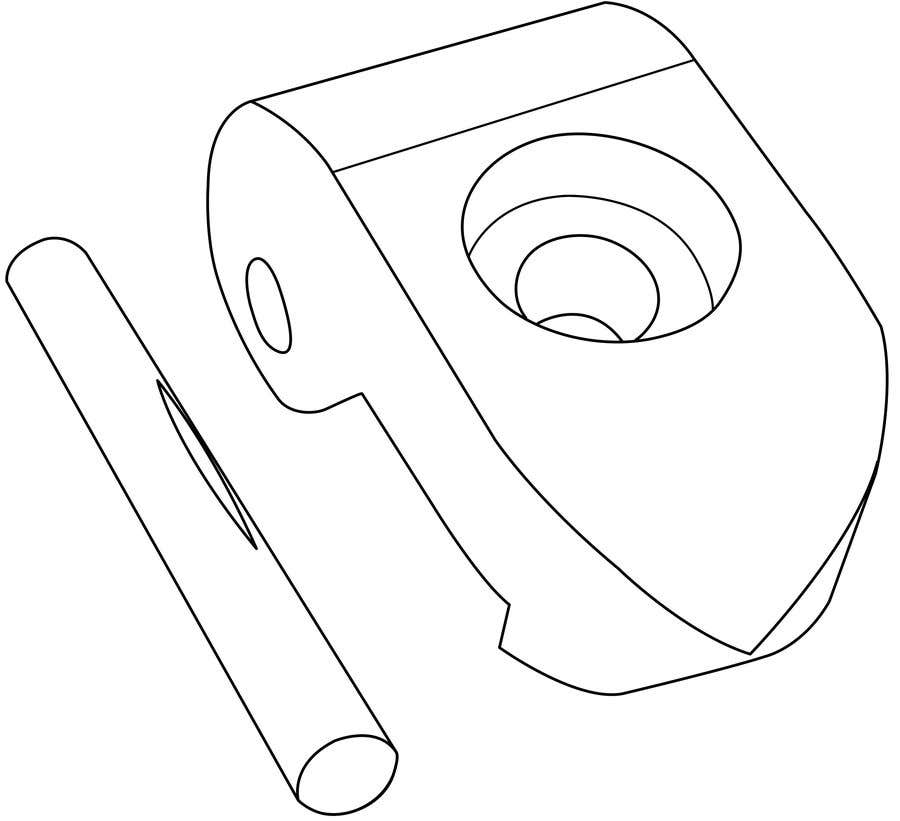 Contest Entry #3 for Lineart job needed for a simple object
