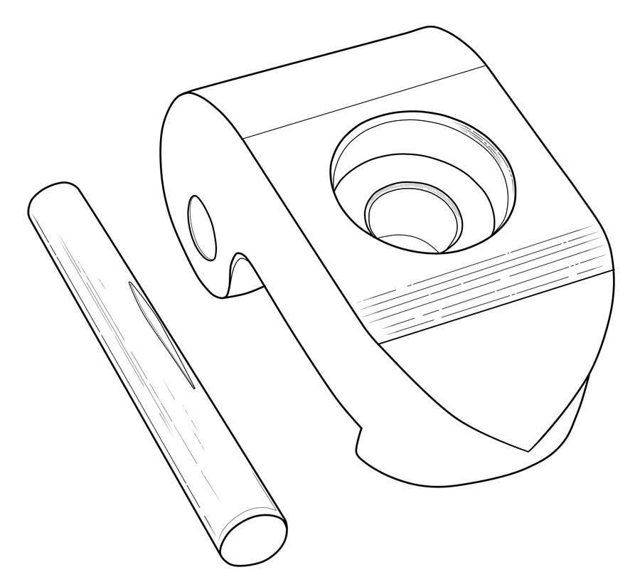 Contest Entry #10 for Lineart job needed for a simple object