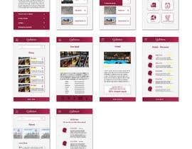 #39 untuk Ui Ux Design for a Mobile App oleh milanakdesign