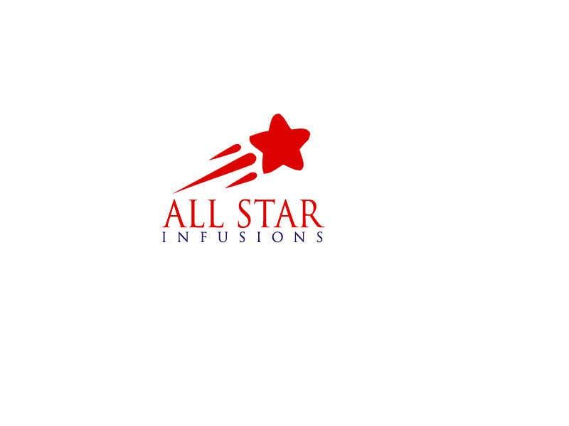 """Penyertaan Peraduan #111 untuk Logo - """"All Star Infusions"""""""
