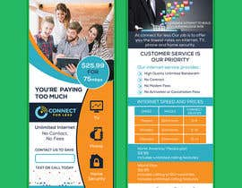 #76 for Postcard style flyer for telecom business double sided af AhmedShakil24