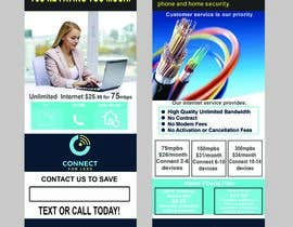 #68 for Postcard style flyer for telecom business double sided af brightsignflexpr
