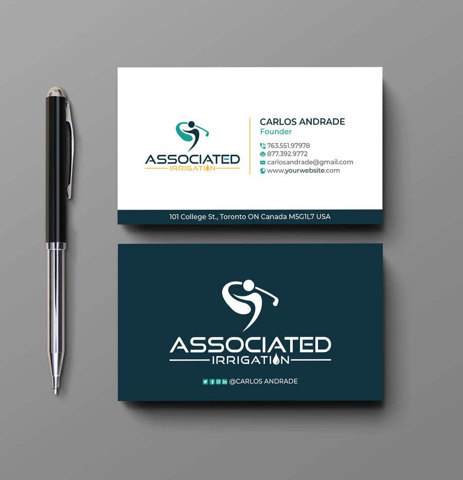 Konkurrenceindlæg #6 for Business card