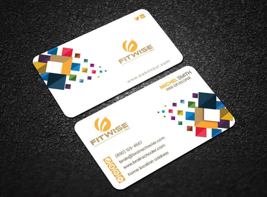 Konkurrenceindlæg #72 for Business card