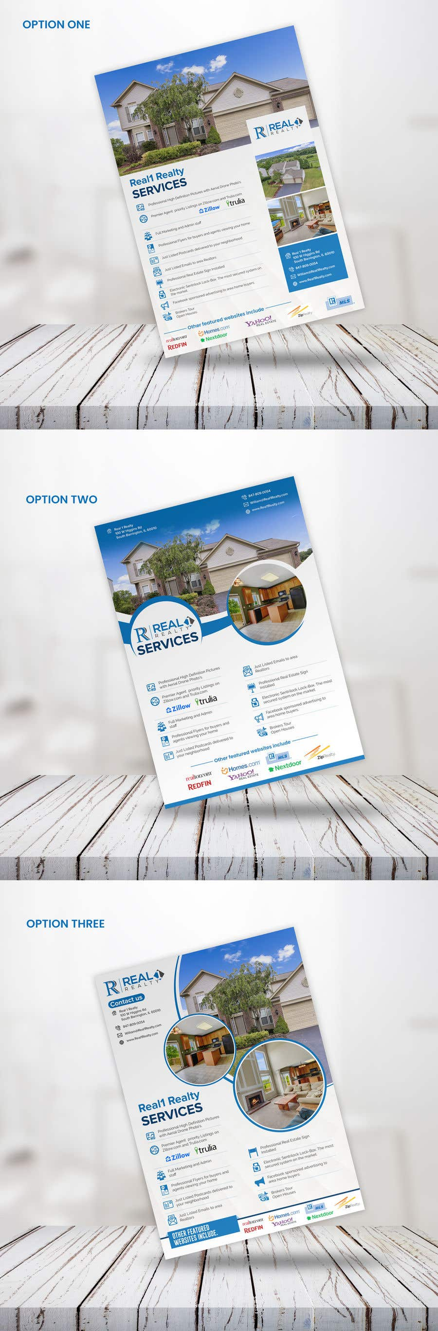 Bài tham dự cuộc thi #94 cho Custom one page Professional Brochure for Real Estate Company