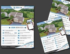 #122 untuk Custom one page Professional Brochure for Real Estate Company oleh karimulgraphic