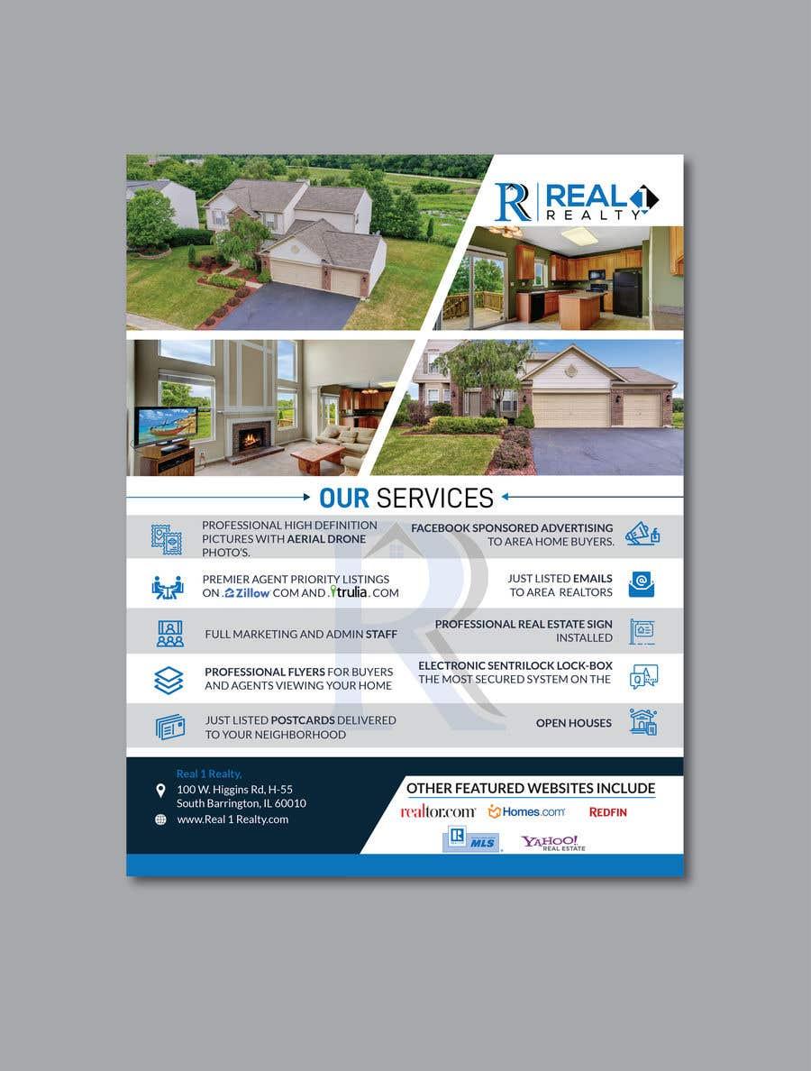 Bài tham dự cuộc thi #162 cho Custom one page Professional Brochure for Real Estate Company