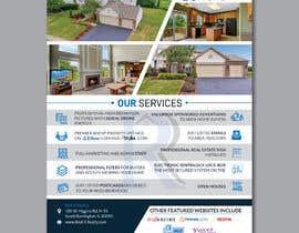 #162 untuk Custom one page Professional Brochure for Real Estate Company oleh designerrezaul