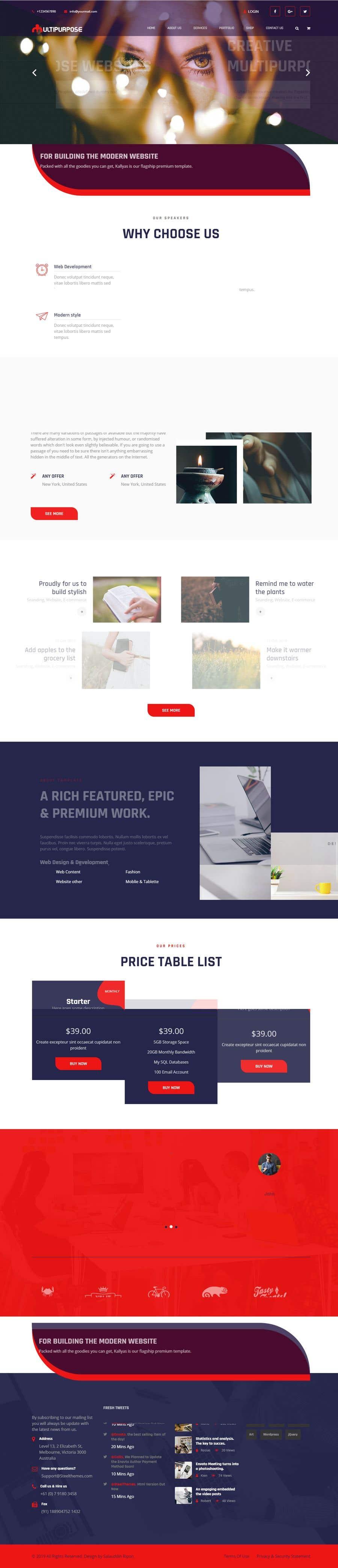 Konkurrenceindlæg #27 for Build me a website