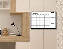 #18 untuk Design Calendar Section / Notes Section For a Home Dry Erase Whiteboard oleh bhowmick77