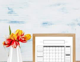 #53 untuk Design Calendar Section / Notes Section For a Home Dry Erase Whiteboard oleh SiddharthBakli