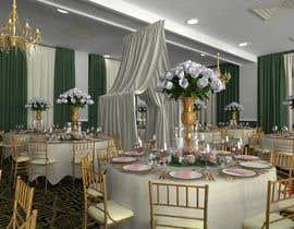 osabeljeriza tarafından 3D Model of Wedding Venue için no 1