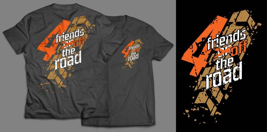 Kilpailutyö #108 kilpailussa Design a T-Shirt for offroad motorbike