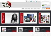 Graphic Design Inscrição do Concurso Nº4 para Landigpagedesign for shop-globe.com