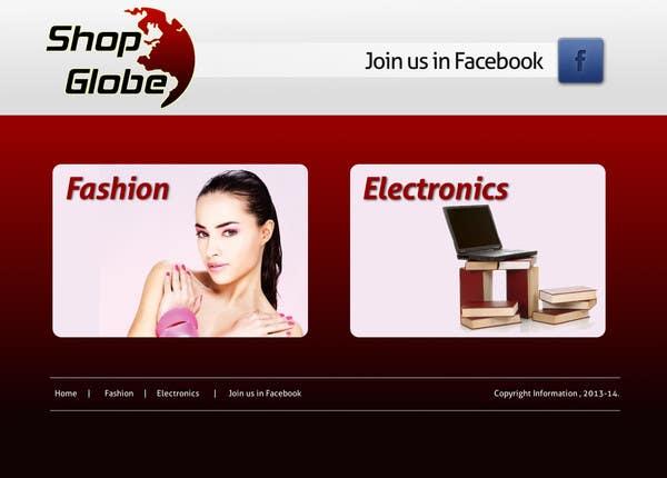 Inscrição nº                                         2                                      do Concurso para                                         Landigpagedesign for shop-globe.com