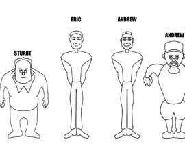 FAlexandr tarafından Create Cartoon Caricature of 5 people (images) için no 7