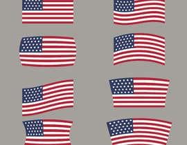 #55 untuk United State Of America flag oleh sajeebhasan177