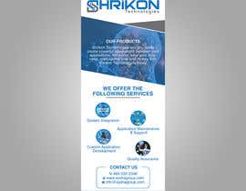 #12 for Design Shrikon Banner af hr755648