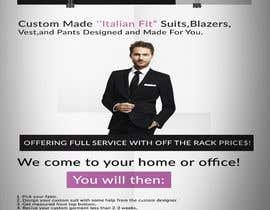 #7 untuk Poster Design - Custom Suits oleh DesignerAmranul