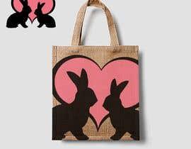 #185 untuk Rabbit Themed Hemp Shopper Bags oleh sagorlbk2014