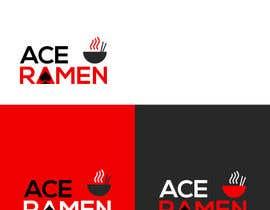 "zlostur tarafından Create a new Japanese Ramen restaurant logo called ""ACE RAMEN"" için no 79"