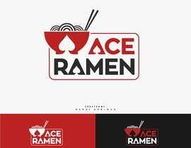 """reyryu19 tarafından Create a new Japanese Ramen restaurant logo called """"ACE RAMEN"""" için no 137"""