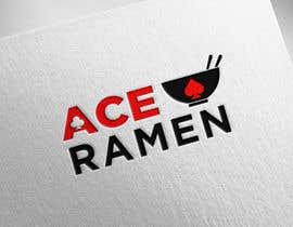 "Mansourjahfal tarafından Create a new Japanese Ramen restaurant logo called ""ACE RAMEN"" için no 438"