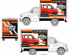 #34 for BOX TRUCK WRAP DESIGN by isyaansyari