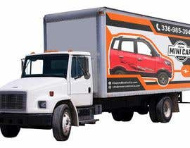#35 for BOX TRUCK WRAP DESIGN by isyaansyari
