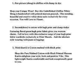 #6 para Garment description por digitalsense03