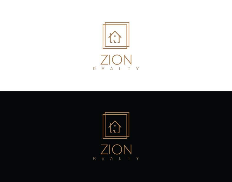 """Penyertaan Peraduan #292 untuk Logo for """"Zion Realty"""""""