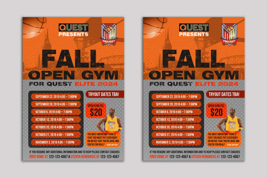 Contest Entry #28 for Basketball Flyer