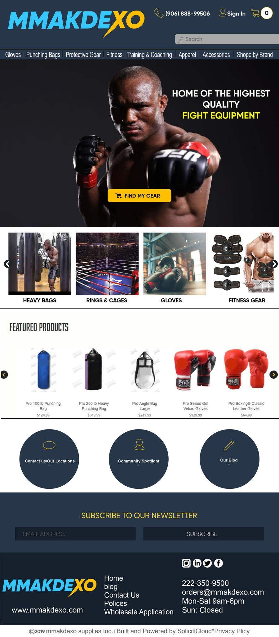 Kilpailutyö #212 kilpailussa New Company Web Design -  Contest