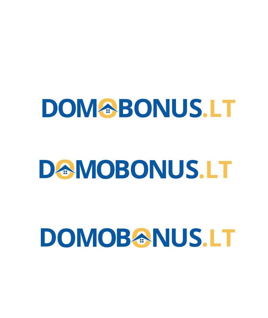Contest Entry #94 for Domobonus.lt logo