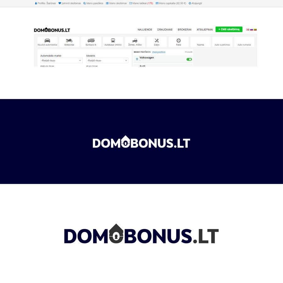 Contest Entry #168 for Domobonus.lt logo