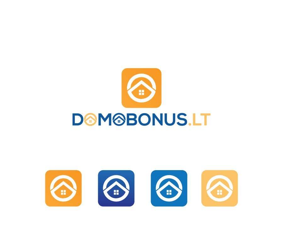 Contest Entry #133 for Domobonus.lt logo