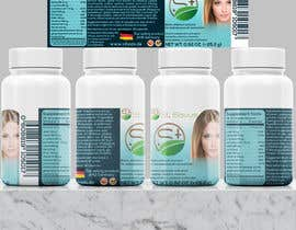 #113 for Label for organic / dietary supplement brand for global sale by Jane94arh